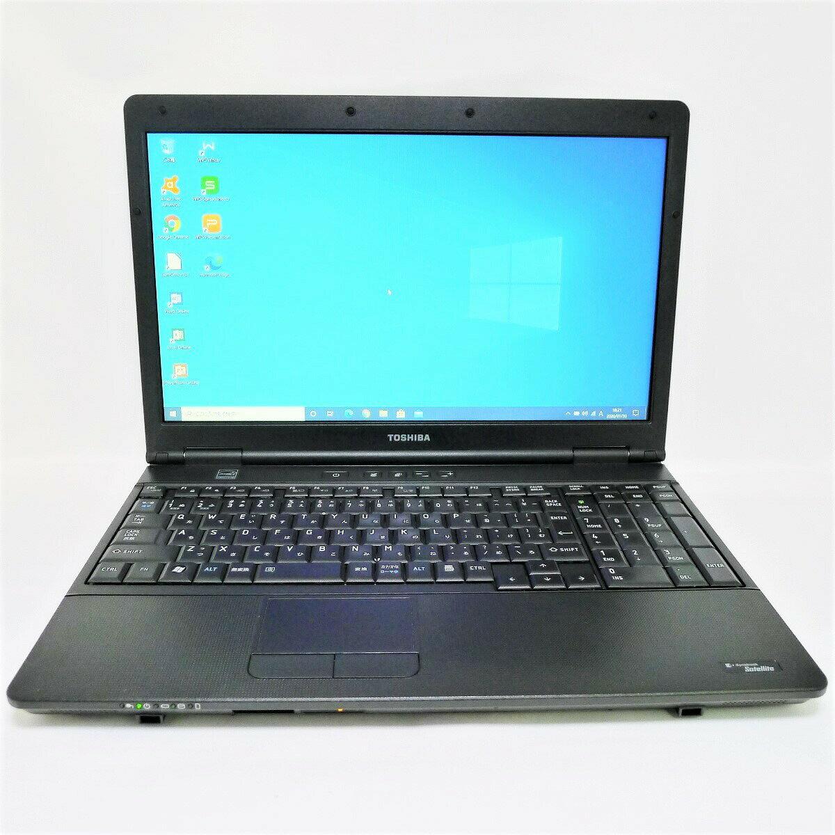 パソコン, ノートPC TOSHIBA dynabook Satellite B552 Core i3 16GB SSD2TB DVD-ROM LAN Windows10 64bitWPSOffice 15.6