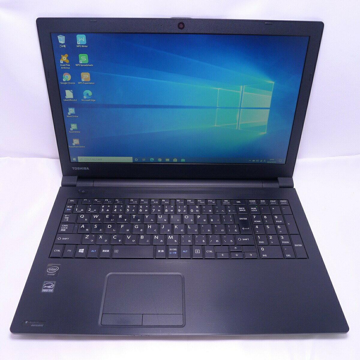 パソコン, ノートPC TOSHIBA dynabook R35 Celeron 4GB SSD960GB DVD-ROM LAN Windows10 64bitWPSOffice 15.6