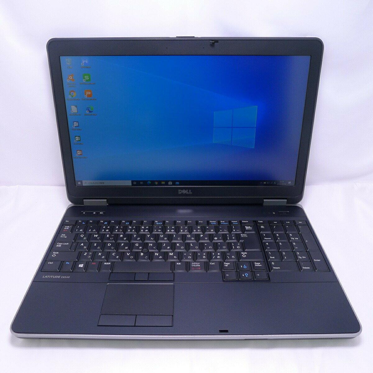 パソコン, ノートPC DELL Latitude E6540 Core i5 8GB SSD240GB LAN HD Windows10 64bitWPSOffice 15.6 PC