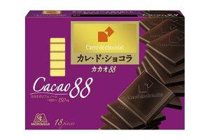 森永製菓カレ・ド・ショコラ(カカオ88)18枚×6個