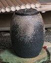 日本庭園のあの心安らぐ水音をご家庭で愉しめる!信楽焼 水琴窟 「琴音」 琴音B-3 重蔵窯 青古...