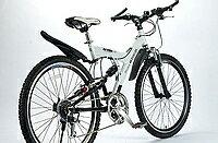 マイパラス MTB26型 18段 Wサス M-960-2-S シルバー マウンテンバイク 【送料無料】 軽量アルミ+Wサスで軽快な走りを実現!