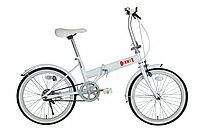 シンプルな定番の20インチ折畳自転車ゼロワン20インチ折りたたみ自転車 MG-ZRE20-WH ホワイト ...
