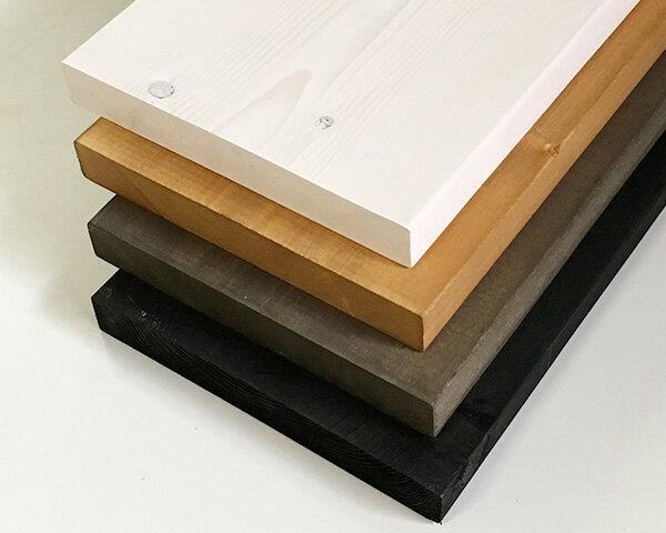 塗装ツーバイ材 【約38×280×3660mm】[2×12] ( DIY 木材 2x12 角材 塗装済 カット可 4色展開 )