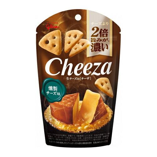 (送料無料)グリコ 生チーズのチーザ〈燻製チーズ味〉 40g 80コ入り 2019/08/27発売 (4901005544321ck)