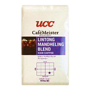 UCC業務用 リントン マンデリン ブレンド アイスコーヒー(豆) AP500g×12個