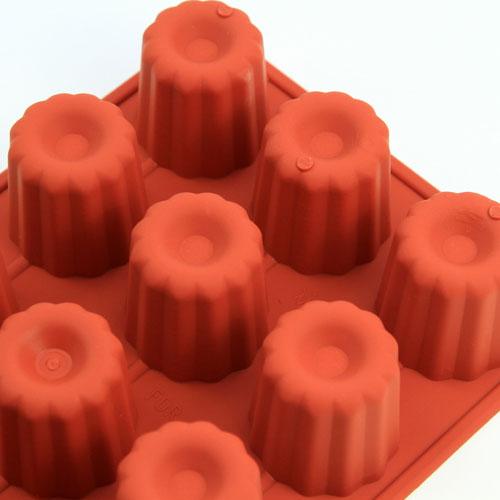 シリコンフレックス カヌレ型15ヶ付 SF-059 シリコン型  ケーキ型 お菓子