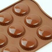チョコレート シリコンモールド マカロン チョコレートモールド