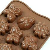 チョコレート型 シリコンモールド spring life(スプリングライフ)SCG024 チョコ型 チョコレートモールド ケーキ型