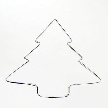 クッキー抜き型 ツリー(小) クッキー型  クリスマス クッキーカッター 型抜き