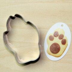 18-8ステンレスクッキー型□ドッグフット(大)