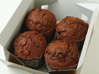 チョコチップマフィン(4個)