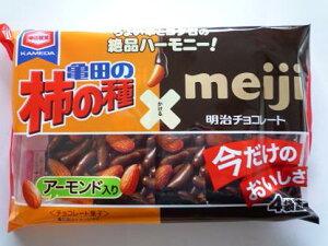 亀田 柿の種チョコ亀田製菓  亀田の柿の種チョコ&アーモンド 4P 12入