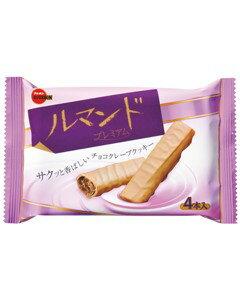 チョコ クレープクッキーブルボン ルマンドプレミアム 10入