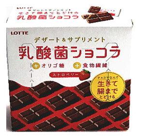 ロッテ 乳酸菌ショコラ ストロベリー 48g ×6個