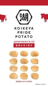 【心ばかりですが…おまけつきます☆】湖池屋KOIKEYA PRAIDE POTETO魅惑の炙り和牛63g×12袋入