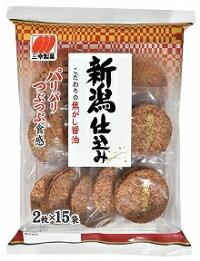 【おまけつきます☆】三幸製菓◆新潟仕込み醤油◆30枚6入