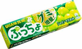 【心ばかりですが…おまけつきます☆】UHA味覚糖ぷっちょスティックマスカット10粒×10個入