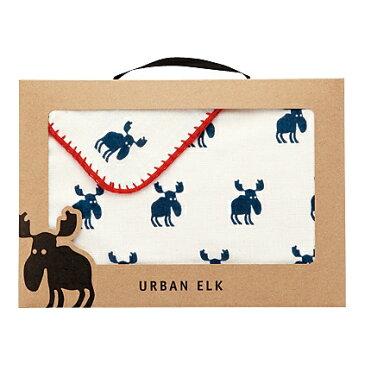 URBAN ELK(アーバンエルク)フェイスタオル(ネイビー)【出産内祝 内祝いなどのお祝い返しに】【出産祝い お返し 返礼】【送料込み 送料無料(※沖縄、離島は除く)】