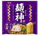 送料無料 明星食品 麺神 神太麺×旨 醤油 117g (めん90g)×40入
