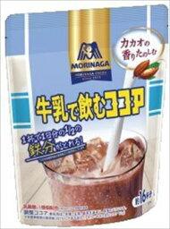 送料無料 森永 牛乳で飲むココア 200g×12個