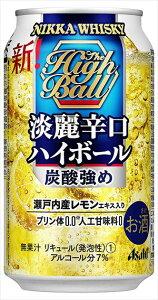 アサヒビール ニッカ淡麗辛口ハイボール缶 ウイスキー 日本 350ml×24本