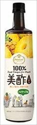 送料無料 CJジャパン プティチェル 美酢(ミチョ) パイナップル 900ml×6本