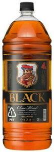 【送料無料】ブラックニッカ クリアブレンド 4L 4000ml×4本 ペットボトル【ニッカウイスキー】
