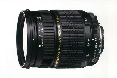 ズーム全域F2.8の大口径ズームTAMRON SP AF28-75mm F/2.8 XR Di LD Aspherical [IF] Macro Mode...