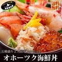 北海道 海鮮丼 刺し身 送料無料 ギフト 『オホーツク海鮮丼