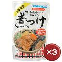 沖縄でよく食べられるてびちと軟骨ソーキの入った贅沢な煮付け料理。オキハムの琉球料理シリー...