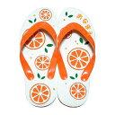 島ぞうり「CCC♪(オレンジ)」(大サイズ) 名入れ 手作り 草履[日用品・雑貨>雑貨>Tシャツ]【point2】