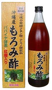 ♪ 交易 12 件套! 紅麴米與木瓜酶發酵檸檬酸、 氨基酸飲料沖繩生產醋 [900 毫升,05P24Oct15