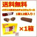 タンノック ウェハース 1箱(12個入り) / 輸入菓子 洋菓子 チョコレート イギリス