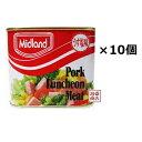 【ミッドランドポーク】300g うす塩味 ×10缶セット