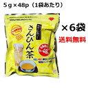 さんぴん茶 ティーバッグ 5g×48p×6袋セット お徳用 ティーパック 沖縄お土産