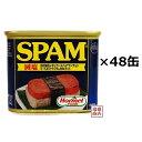 【スパム 減塩】 340g×48缶 (2ケース) 沖縄ホーメル ポークランチョンミート 缶詰