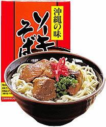沖縄料理の代表格!「沖縄そば」ソーキそば・乾麺・2人前(360g)/P15Aug15