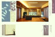 インテリア和紙燦【SAN】201〜203藤の花壁紙ふすま紙天井にも99cm×201cm