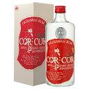 COR COR (コルコル) 赤ラベル 40度 720ml/グレイスラム株式会社/ラム酒/スピリッツ/