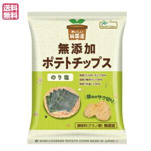 ポテチ ポテトチップス 無添加 おいしい純国産 無添加ポテトチップス のり塩 55g ノースカラーズ 送料無料