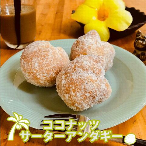 沖縄 サーターアンダギー ココナッツ10個入 さーたーあんだぎー 沖縄ドーナツ