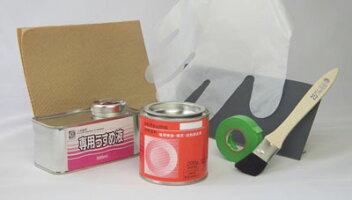 オキツモバイク用耐熱塗料カラーフロン1缶(専用うすめ液付)