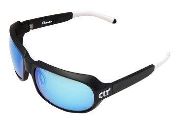 CLT Panda(パンダ)マットブラックXグリーンスモーク/ブルーミラー(clt-150683)60サイズ|偏光サングラス サイトフィッシング サイクリング アウトドア アイウェア