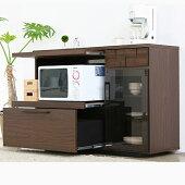キッチンカウンター120キッチンカウンター収納たくさんキッチン回り収納収納キッチンキャビネットCOLK家電収納
