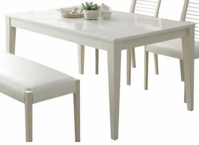 伸長 ダイニングテーブル 伸長式 白木目 ホワイト木目  伸長テーブル 伸張 W130-W180 光沢 モダン 北欧 テーブルのみ チェア別売り おしゃれ 人気