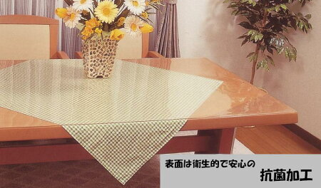 2mm厚透明抗菌テーブルマットTK2-1810