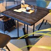 ダイニングテーブルカフェテーブル幅75cm木製ハイテーブルチェア別売り北欧おしゃれ人気
