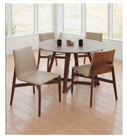 【送料無料】ダイニング5点セット丸テーブル120cmカフェテーブル4人掛けダイニングテーブルセットナチュラル・ブラウンシンプル