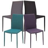 ダイニングチェア4脚セットスタッキングチェア積み重ね可能完成品椅子イススタッキングチェアーカフェチェア4色完成品おしゃれ北欧